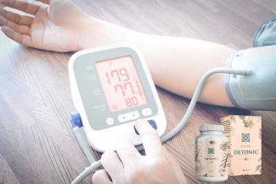 Detonic je prirodni tretman za hipertenziju