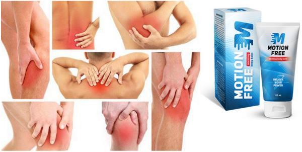 Motion Free gel za bolove u leđima i zglobovima, sastojci, prospekt, Hrvatska